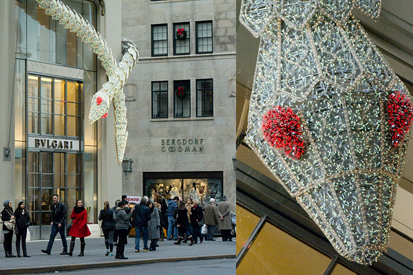 Bulgari Bejeweled Snake on Fifth Avenue