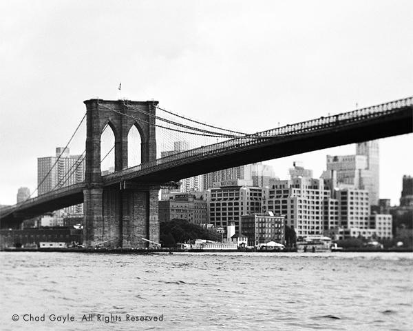 Brooklyn Bridge (tilt shift)