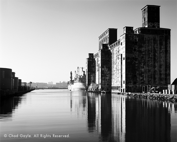 Port Authority Grain Terminal, Red Hook, Brooklyn