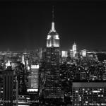 New York skyline, classic view