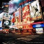 Palace Theater, Times Square (night)