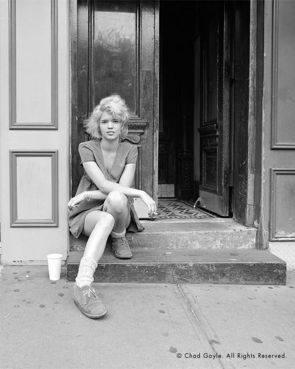 West Village girl (portrait)