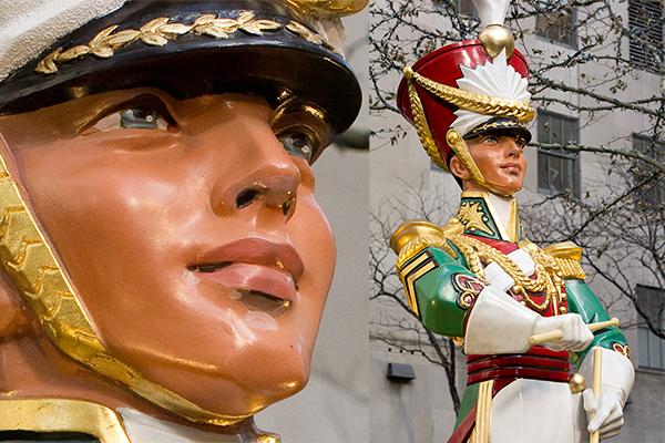 Rockefeller Center Drummer Boy Sculpture