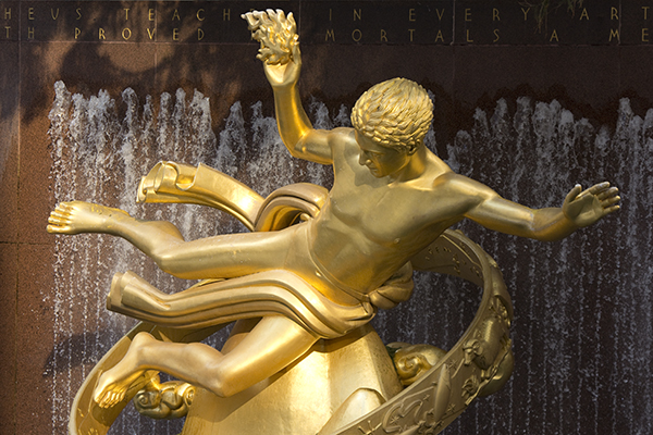 Prometheus at Rockefeller Center